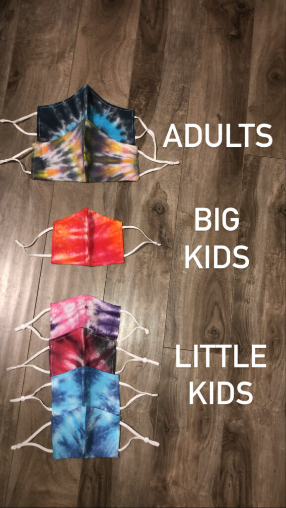 mask sizes