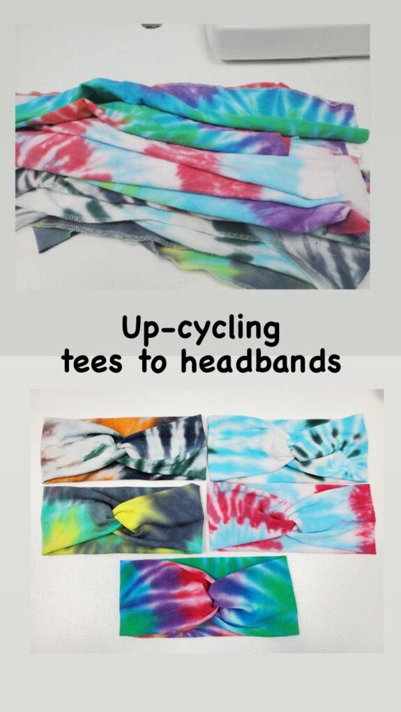 up cycled headbands